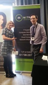 Meeting Katie Bulmer-Cooke at B2B Glasgow