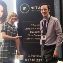 m3 Networks exhibiting at b2b event in Glasgow