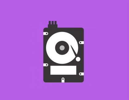 Hard disk icon depicting more storage
