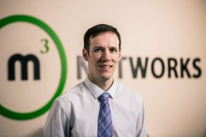 Mark Riddell, MD of m3 Networks