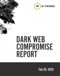 Dark Web Compromise Report